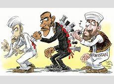 OBL Hiding in Pakistan Cartoons