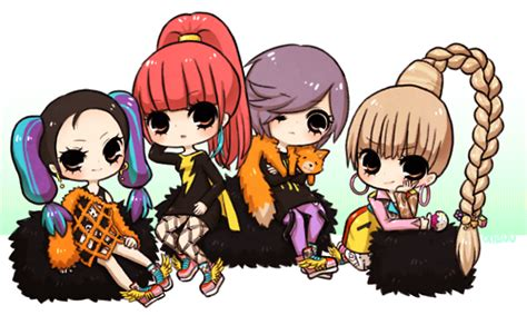 Cl Anime Wallpaper - blackjacks images 2ne1 chibi s wallpaper and background