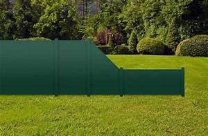 Sichtschutzzaun Kunststoff Grün : moosgr n sichtschutzzaun kunststoff gr n ecoline element 90 dicht ~ Whattoseeinmadrid.com Haus und Dekorationen