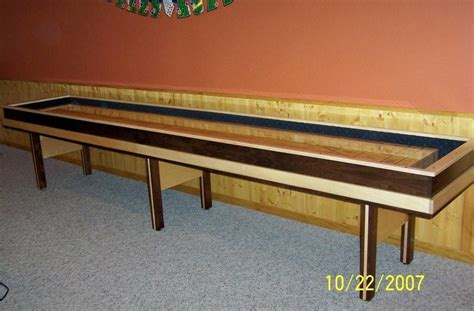 making a shuffleboard table woodworking plans diy shuffleboard table plans pdf plans