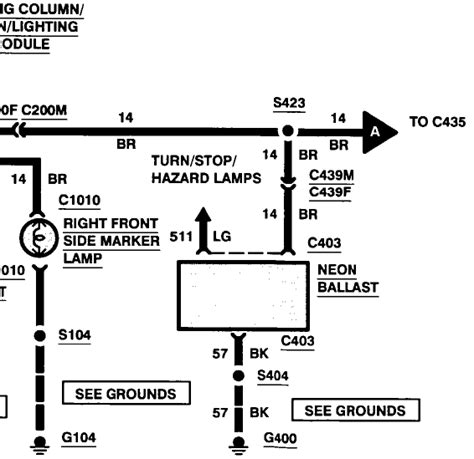 93 Lincoln Viii Wiring Diagram by Wiring Diagram For A 1997 Lincoln Viii Electrical And Lighting