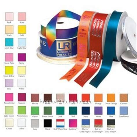 1 quot custom gift roll ribbon 1 color wholesale china