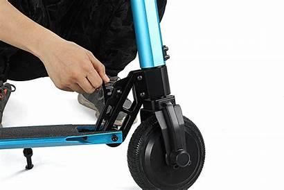 Scooter Electric E4 5inch Folding Wheel
