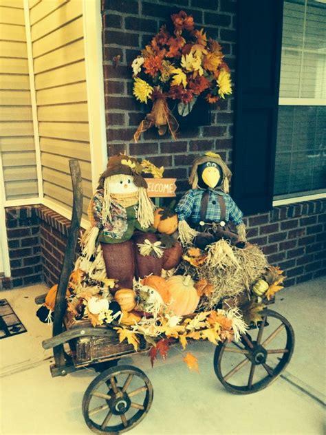 Best 25+ Fall Wagon Decor Ideas On Pinterest  Fall Porch
