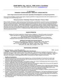 senior application development manager resume senior manager resume template images frompo