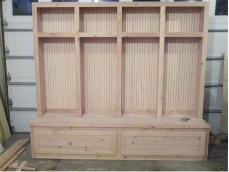 mudroom bench woodworking plans mudroom lockers mud