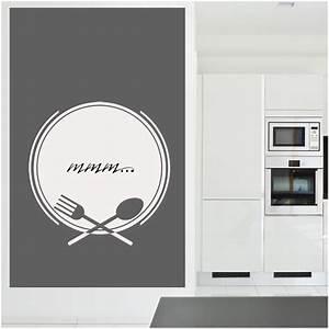 Stickers Muraux Cuisine : stickers velleda cuisine couverts des prix 50 moins ~ Premium-room.com Idées de Décoration