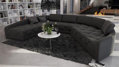 canapé d angle arrondi cuir le mobiliermoss du nouveau côté canapé d angle