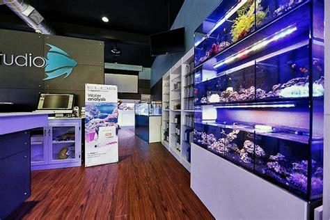 aquarium accessories shopping elos aquastudio new york grand opening reveals a gorgeous reef aquarium store news reef