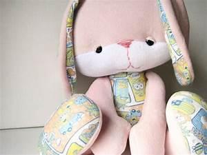 Friendly Faces Bella Bunny Plush PDF Pattern by NimblePhish