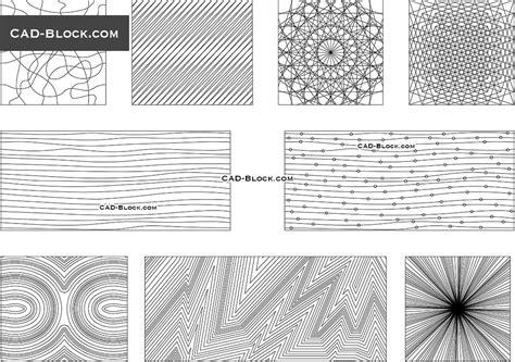 pattern lines vector  autocad file  dwg blocks