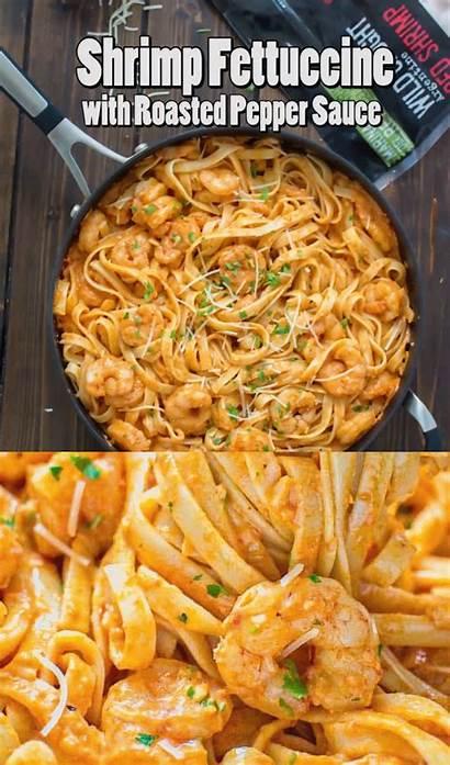 Shrimp Pasta Seafood Sauce Recipes Cajun Roasted