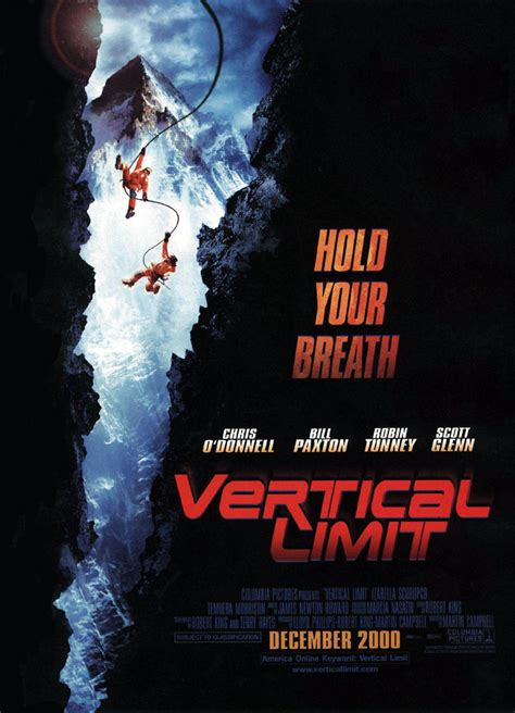 Vertical Limit DVD Release Date May 22, 2001