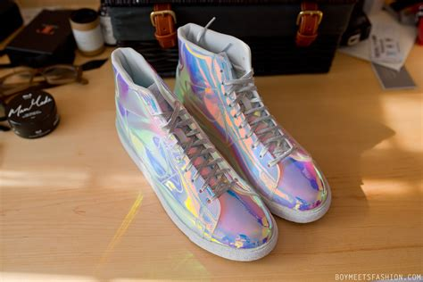These Holographic Nike Trainers Arrived This Morning