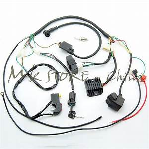 Complete Electrics Wiring Harness Chinese Dirt Bike For