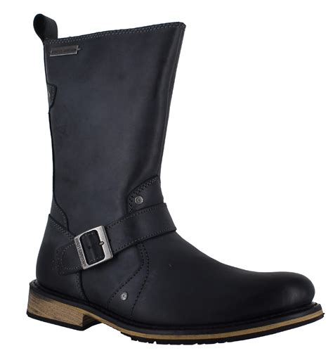 mens black motorcycle riding boots harley davidson jayden mens black biker riding motorcycle