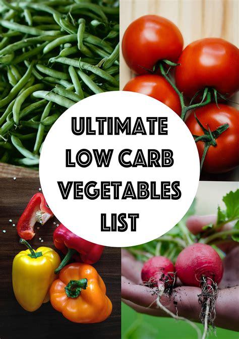 carb vegetables list searchable sortable guide ketogasm