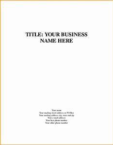 business title page template quote templates apa essay ...