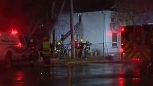 Fire crews battle early morning roof fire on Dufferin ...