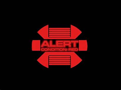 Alert Trek Warning Graphic Fi Sci Folder