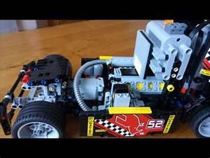 Lego Technic Camion : lego technic camion de course 42041 youtube ~ Nature-et-papiers.com Idées de Décoration