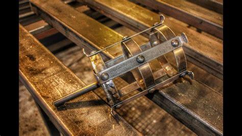 überdachung selber bauen metall gartenfackel mittelalter fackel aus metall selber bauen