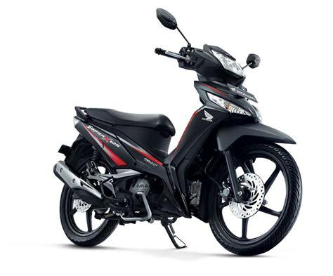 Modifikasi Supra X 125 Yg Baru by Honda Supra X 125 2017 Energetic Black Punya Striping Baru