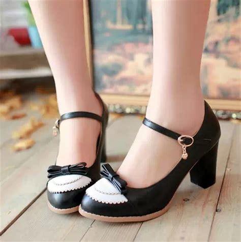 cute bow lolita shoes  colours   storenvy