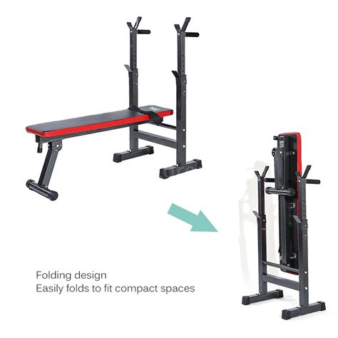 collapsible workout bench tomshoo sit up folding ab bench fitness exercise workout