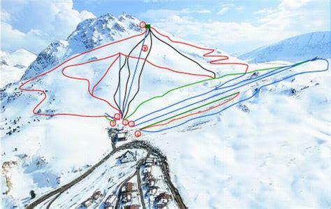 Türkiye Kayak Merkezleri ve Pist Haritaları