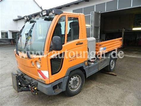 Powered by a 3 liter, 5 cylinder diesel engine. Used Mercedes-Benz Fumo Carrier H Multicar M30 Allrad ...