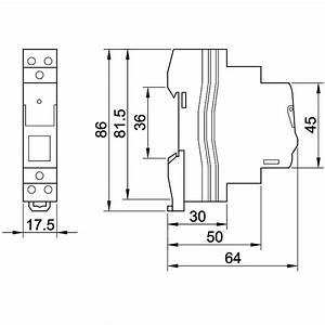impulse relay modular 230vac 16a 230v impulse relay With electric imp relay