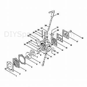 Stihl 015 Chainsaw  015ave  Parts Diagram  Carburetor Hdc