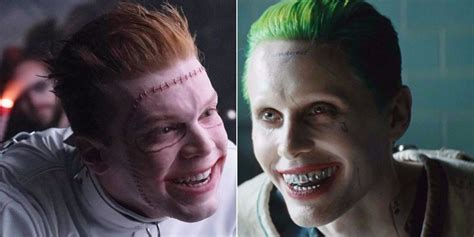 actor joker in gotham gotham s joker blows suicide squad s jared leto out of the