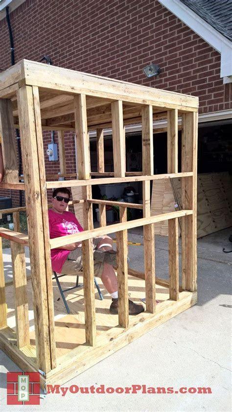 diy deer blind myoutdoorplans  woodworking plans  projects diy shed wooden