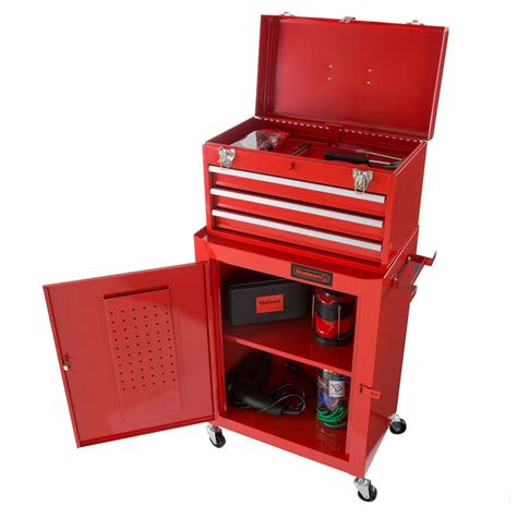 tool cabinets on wheels husky 52 in 18 drawer tool chest and rolling tool cabinet
