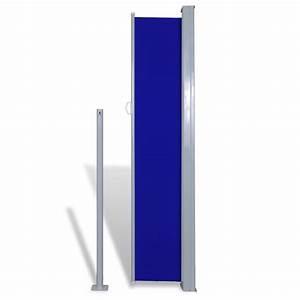 Markise 180 Cm Breit : der terrasse seitenmarkise sichtschutz markise 180 x 300 cm blau online shop ~ Bigdaddyawards.com Haus und Dekorationen