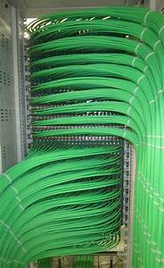 Amazing Dressing And Termination   Cat6plenum  Ethernet