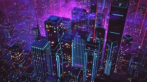 Retrowave: A Stunning 80s Animation Combines 'Tron' with ...