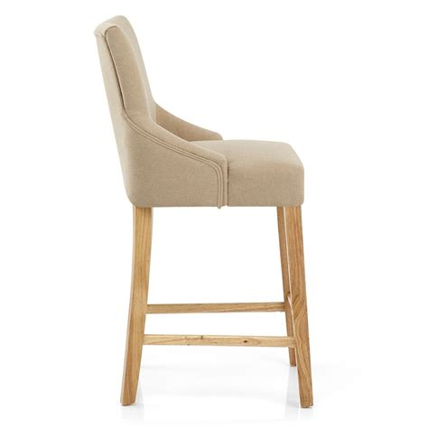 chaise bois et tissu chaise de bar bois tissu magna monde du tabouret