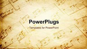 best vintagemusicbg powerpoint template vintage music With ppt music templates free download