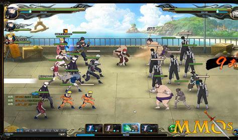 Game Naruto Online Bandai Gamesworld