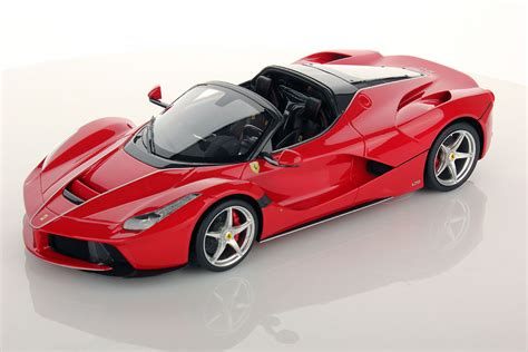 ferrari coupe models ferrari laferrari aperta 1 18 mr collection models