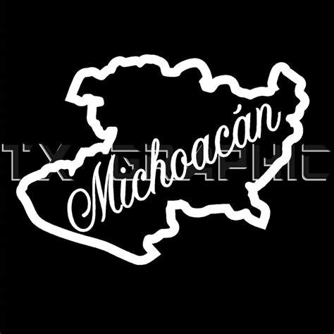 MICHOACAN STICKER MICH VINYL DECAL MEXICO STATE MORELIA