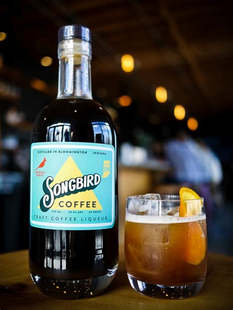 Most coffee liqueur is made by adding natural coffee flavors and sugar to a distilled spirit such as vodka , rum , or brandy. Review: Songbird Craft Coffee Liqueur - Drinkhacker