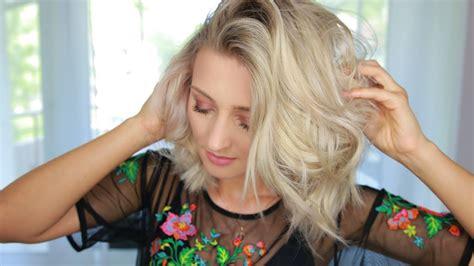 longbob styling messy hair style olesjaswelt youtube