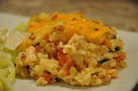 chicken and casserole chicken and rice casserole recipes