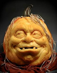 Impressive, Pumpkin, Carving, By, Ray, Villafane