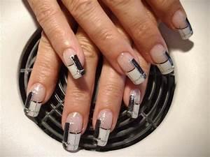 Modele French Manucure Fantaisie : blog de iloupitchou d co d 39 ongle en gel nail art ~ Melissatoandfro.com Idées de Décoration