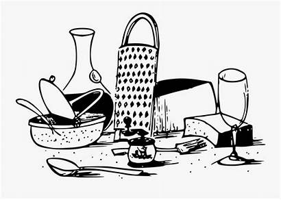 Clipart Italian Clip Plate Dinner Italy Transparent
